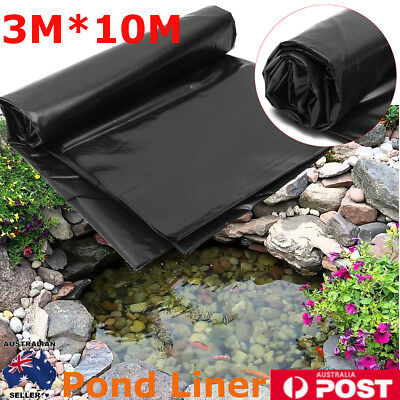 3X10m Pond Liner Garden Pools HDPE Membrane Reinforced Guaranty Landscaping