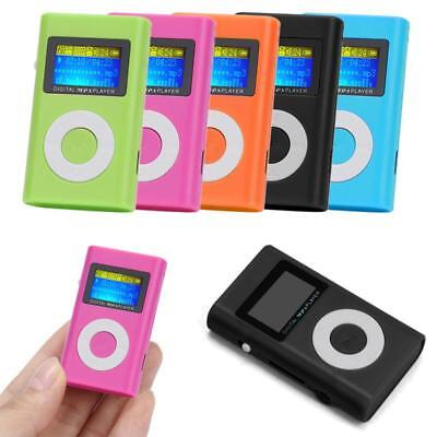 LETTORE MP3 LCD Screen Support 32GB Micro SD TF Card