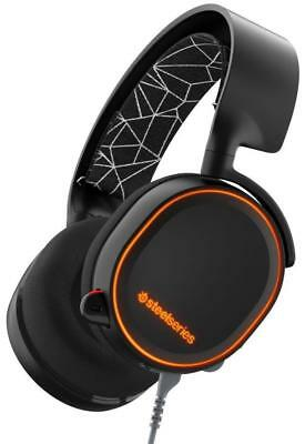 Steelseries Arctis 5 Gaming Headset Black for PS4/PC/Mac/Mobile/VR - Grade A-