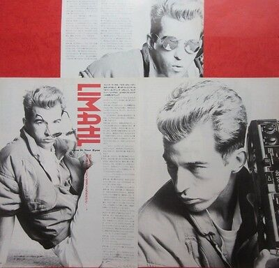 Limahl ex Kajagoogoo 1986 CLIPPING JAPAN MAGAZINE CUTTING A7 T15 4PAGE