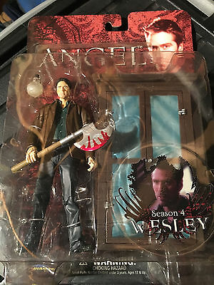 Angel.wesley Season 4 Action Figure.see Pictures