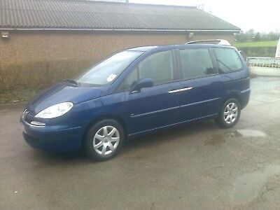 Spares or Repair Peugeot 807 People Carrier 7 Seats Automatic Gearbox Type