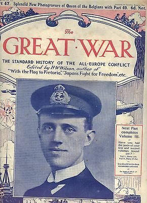 The Great War magazine Part 47 & 201  (1915 and 1918)