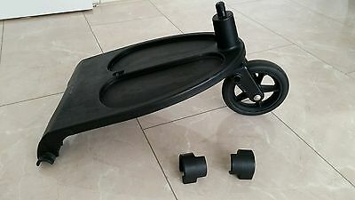 Genuine Bugaboo cameleon 1, 2, 3 and frog wheeled board with adapters