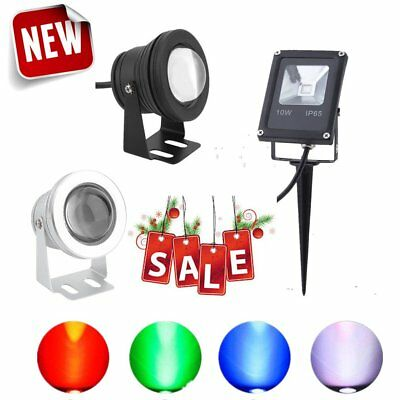 10W LED Light Spot CE Lights Outdoor Garden Party Wedding Lamp Decor With Remote