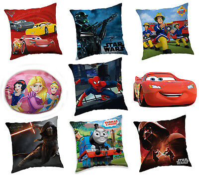 Children's Cushions Plush Shaped Character Licensed Filled