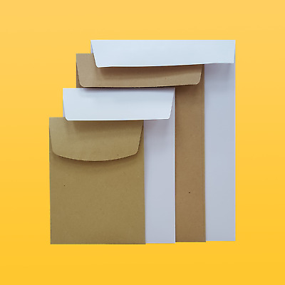 Small Brown or White Pocket Envelopes   Gummed   Quantities from 50-5000 80/90g