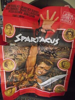 Huge, Original, Iconic French Film/ Movie Poster( 'spartacus' ). 1960.