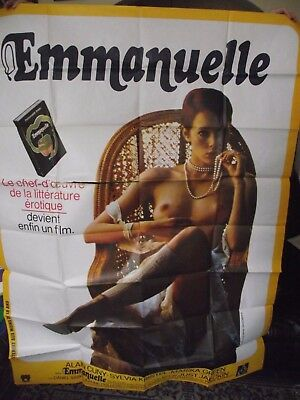 Huge, Original, Iconic French Film/ Movie Poster( 'emmanuelle' ). 1974.