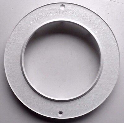 Certikin White Abs Under Water Light Front Clamp Plate Pu9-4