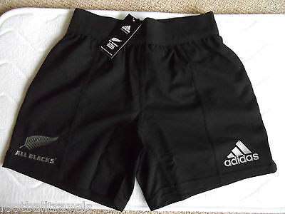 ALL BLACKS ADIDAS RUGBY PLAYERS MATCH SHORTS NEW ZEALAND Tags Original NEW