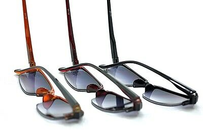 SR50 Spring Hinge Half Frame Sun readers Available In 3 Colours+1.0+1.5+2.0+2.5