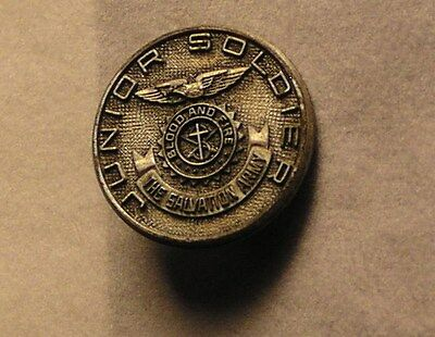 Salvation Army - PIN - JUNIOR SOLDIER PIN WITH AMERICAN EAGLE CREST