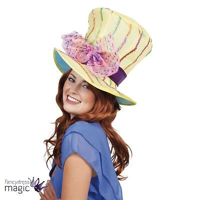 Mad Hatter Tea Party Top Hat Hippie Hippy Fancy Dress Costume Wholesale Job Lot