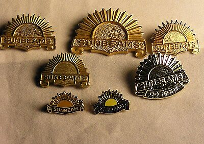 Salvation Army - PIN - COLLECTION OF A VARIETY  OF 7 SUNBEAM MEMBERS PINS