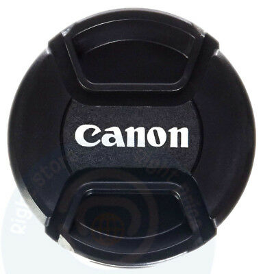 Canon Lens Cap Front Cover Snap DSLR Camera Pinch 58mm 18-55mm 55-200mm 2 pack