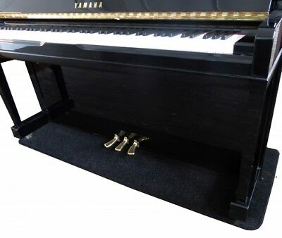 Upright Piano Carpet - protection from underfloor heating