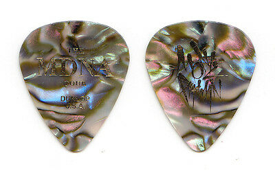 Madonna Monte Pittman Signature Mother of Pearl Guitar Pick - 2012 MDNA Tour