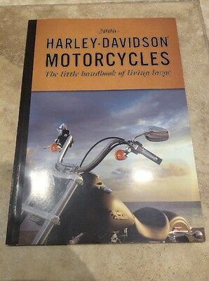 Genuine Harley Davidson 2006 Motorcycle Product Range Brochure