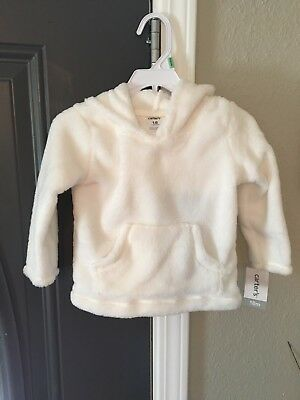 Carters 18 Month Soft White Girls Pullover Sweater