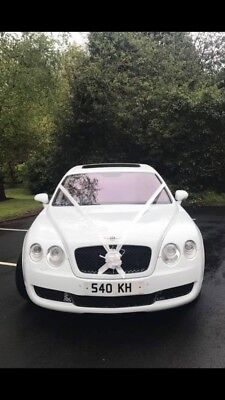 Bentley Flying Spur low mileage, wedding car, limousine, business opportunity