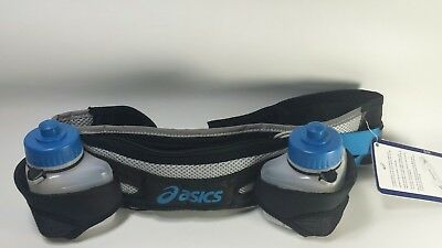 "Asics Hydration Waist Belt Waistpack 2 Bottle Holder Size S fits 26""-34"""