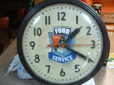 Vintage Ford service station/dealer wall clock