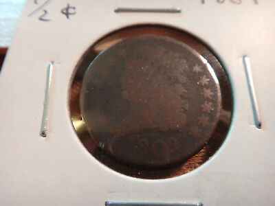 1809 Classic Head Half Cent 1/2c - No Reserve - Free S&H USA