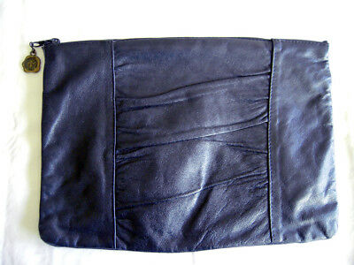 VINTAGE Genuine Italian Leather Purse/Clutch Handcrafted in Florence, Italy