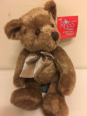 Russ Berrie Teddy Bear  Dellington Retired Rare -  39633 Collectable