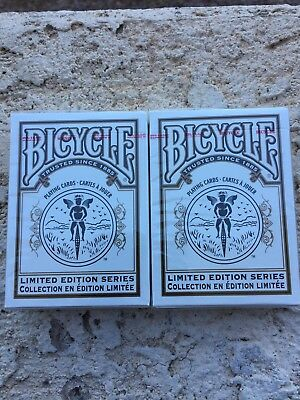Lot Of Two 2 Bicycle Limited Edition Series 1 Playing Cards Deck One Decks