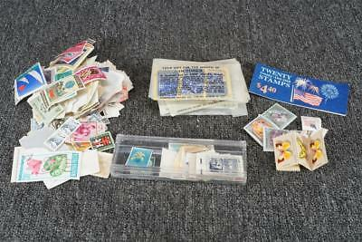 Vintage Lot Of Assorted Stamps Various Designs Countries And Values