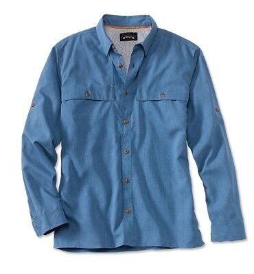 Orvis Fly Fishing Sandpoint Long Sleeve Shirt - Men's