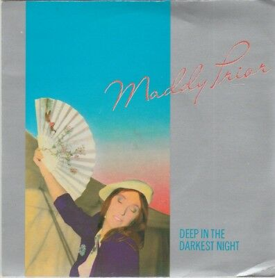 "Maddy Prior ""Deep In The Darkest Night/Western Movies"" RCA Spindrift 1983 7"""