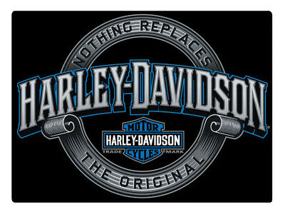 Harley-Davidson Irreplaceable H-D Embossed Tin Sign, 17 x 12.5 inches 2011361