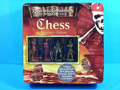 Pirates of the Caribbean CHESS Board Game Collector's Edition by USAopoly (2007)