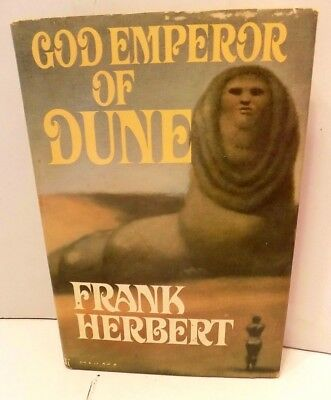 God Emperor of Dune by Frank Herbert (1981, Book Club Edition) Hardcover with DJ
