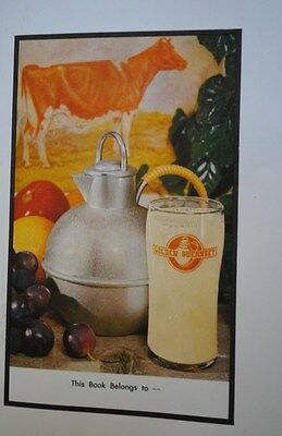 Vintage Dairy Golden Guernsey Mt.ararat Farms Maryland Book Cover Great Graphics