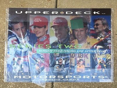Upper Deck Authenticated Jeff Gordon Autographed NASCAR Poster Numbered 234/250