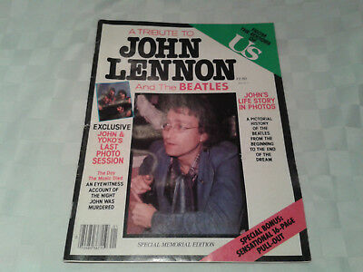 A Tribute To John Lennon US Magazine