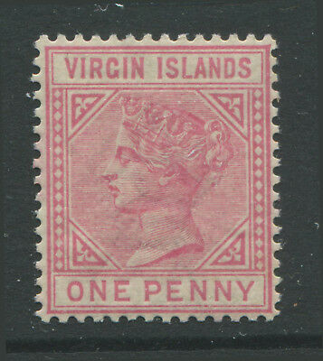 Virgin Islands QV 1883 1d rose unmounted mint NH