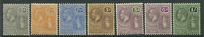 Virgin Islands KGV 1922-28 2d to 1/  mint o.g.