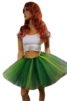 Adult Very Full Multi Green Tutu