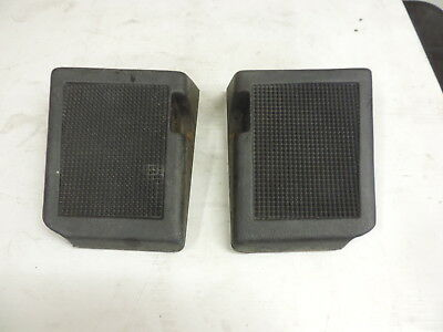 Mach Z 800 1995 used left and right footrest OEM # 414941900 414942000