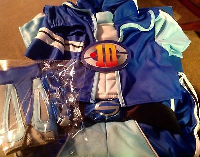 Lazy town Costume Lazytown Sportacus dress up role play 3-5 years lights up