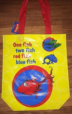 Dr Seuss One Fish Two Fish Tote Bag