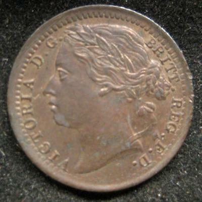 Great Britain 1878 1/3 farthing red UNC #142