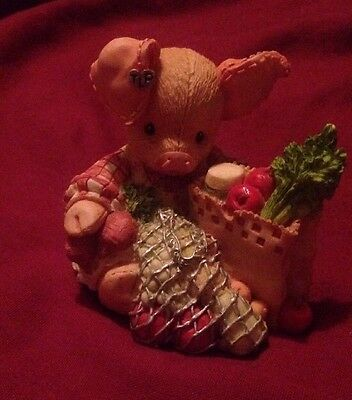 "This Little Piggy ""this Little Piggy Went To Market "" 1994 Enesco"