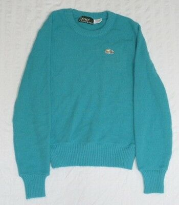 <*> Vintage Izod Lacoste For Her Blue Sweater Womens Size 32 S Small