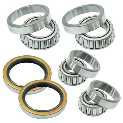 TWO FRONT WHEEL BEARING KITS for TOYOTA HILUX 2WD RN85R RN90R RZN147R WORKMATE